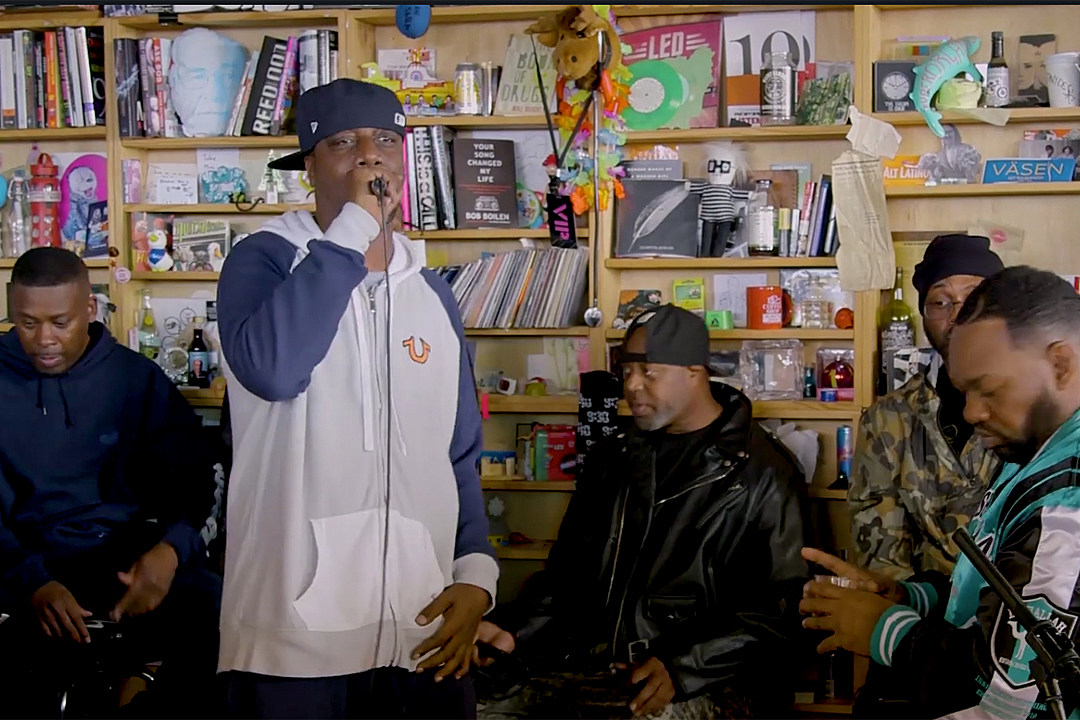 Wu Tang Clan Perform C R E A M And More On Npr S Tiny