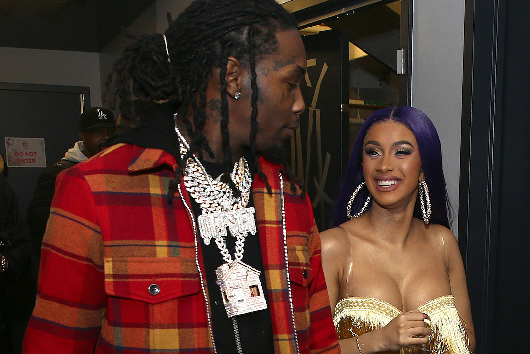 Cardi B S New Back Tattoo Might Be Her Biggest One Yet: Cardi B Confirms That She's Working Things Out With Offset