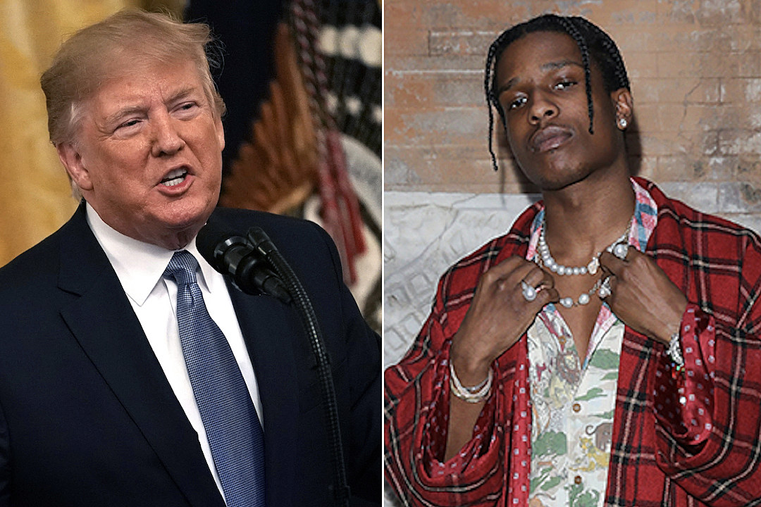 President Trump Calls Sweden Prime Minister in Defense of ASAP Rocky, Offers to Personally Vouch for His Bail