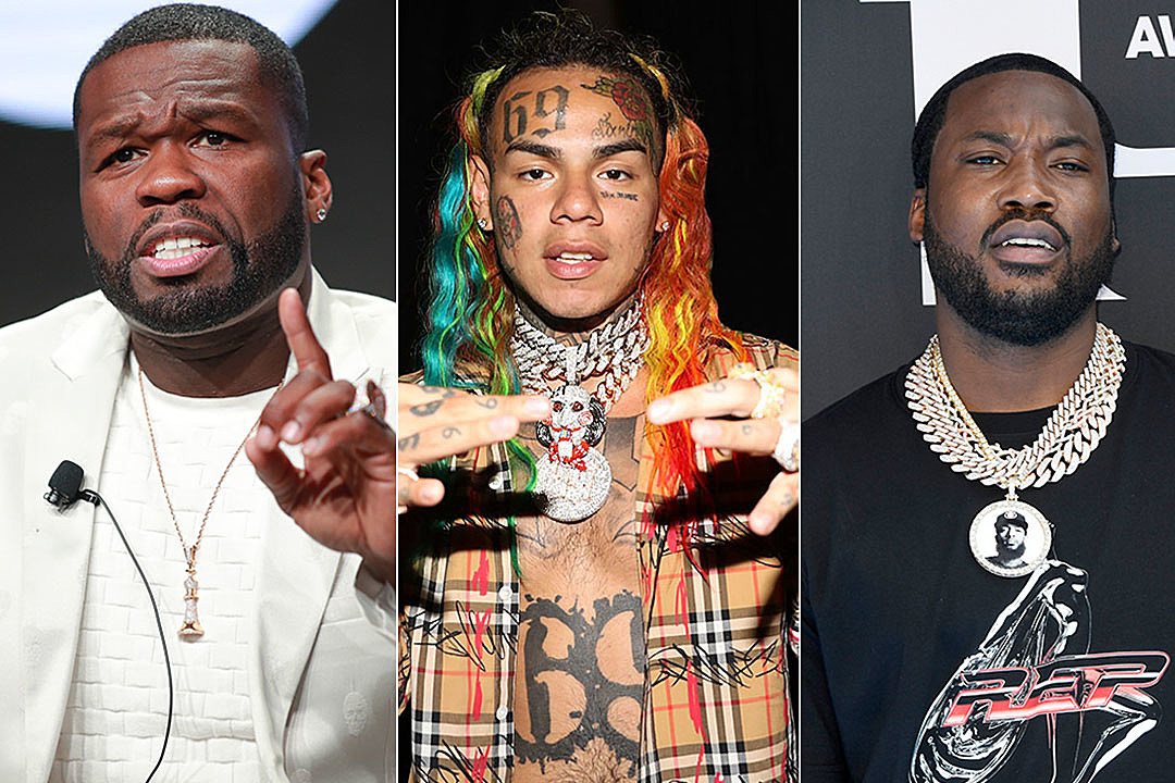 50 Cent, Meek Mill and More React to 6ix9ine Testifying