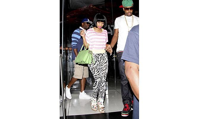"Nicki Minaj's Rumored Ex-Boyfriend Was In The Studio When ""Only"" Was Recorded"