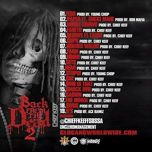 UPDATE: Chief Keef Reveals Cover Art, Release Date And ...