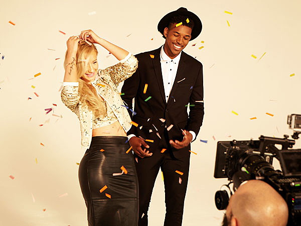 Iggy Azalea And Boyfriend Nick Young Are The Faces Of Forever 21′s Holiday Ad