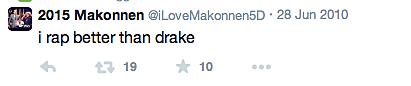ILoveMakonnen Disses Drake