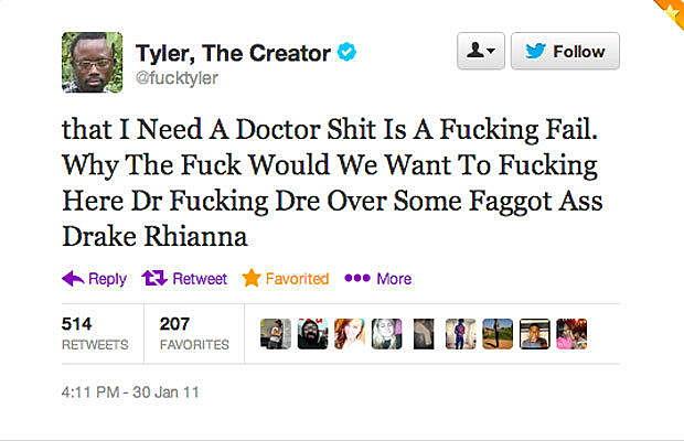 Tyler Disses Dr.Dre & Drake