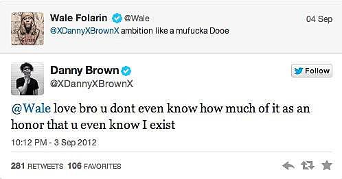 Wale Praises Danny Brown
