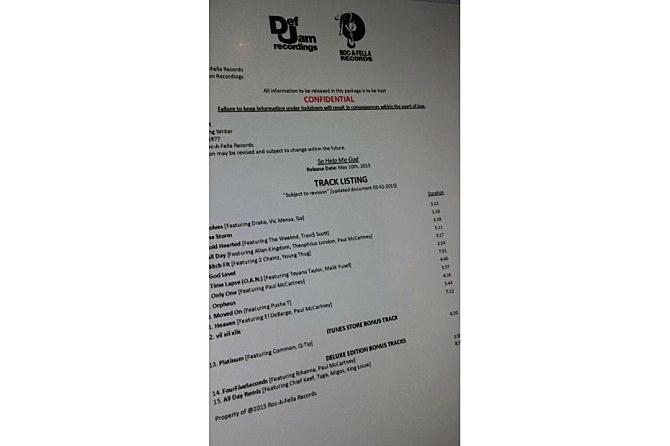 kanye_fake_tracklist