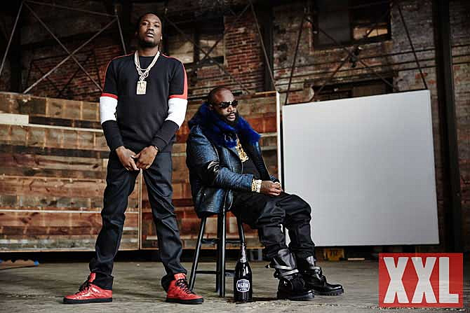 rick ross meek mill xxl cover shoot