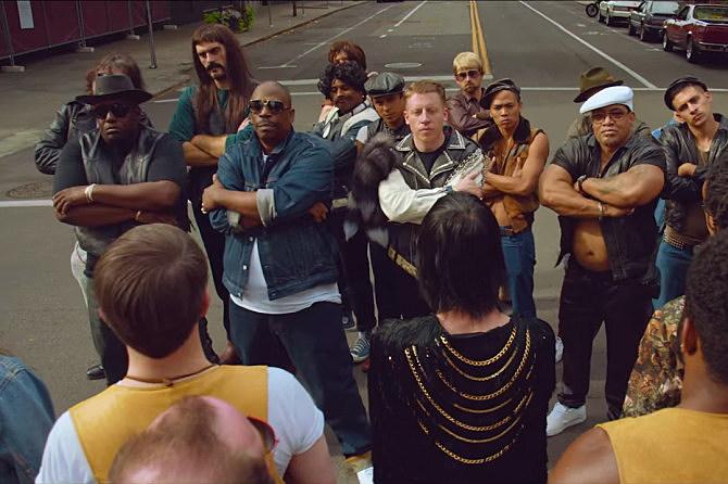 Kool Moe Dee Macklemore melle mel Grandmaster caz downtown music video